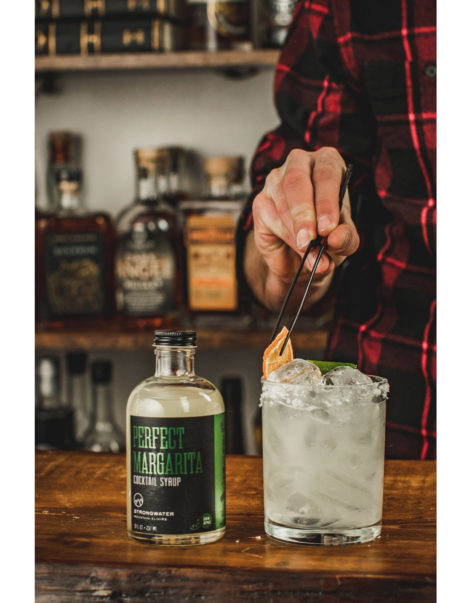 Strongwater Strongwater Perfect Margarita Cocktail Syrup
