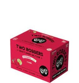 Two Robbers Two Robbers Craft Hard Seltzer, Raspberry Lime