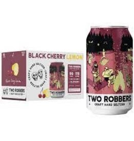 Two Robbers Two Robbers Craft Hard Seltzer, Black Cherry Lemon