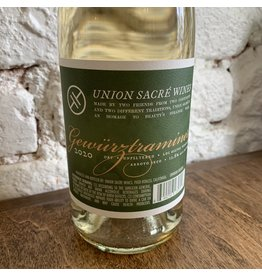 Union Sacre Union Sacré Wines Gewürztraminer, Arroyo Seco 2020