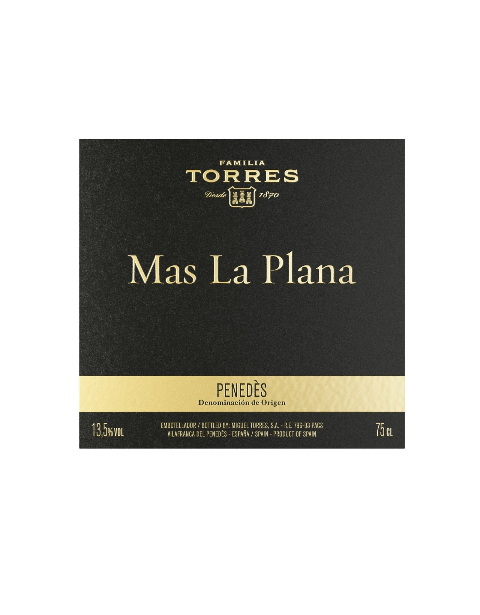 Torres Torres Mas La Plana Cabernet Sauvignon, Penedès 2016