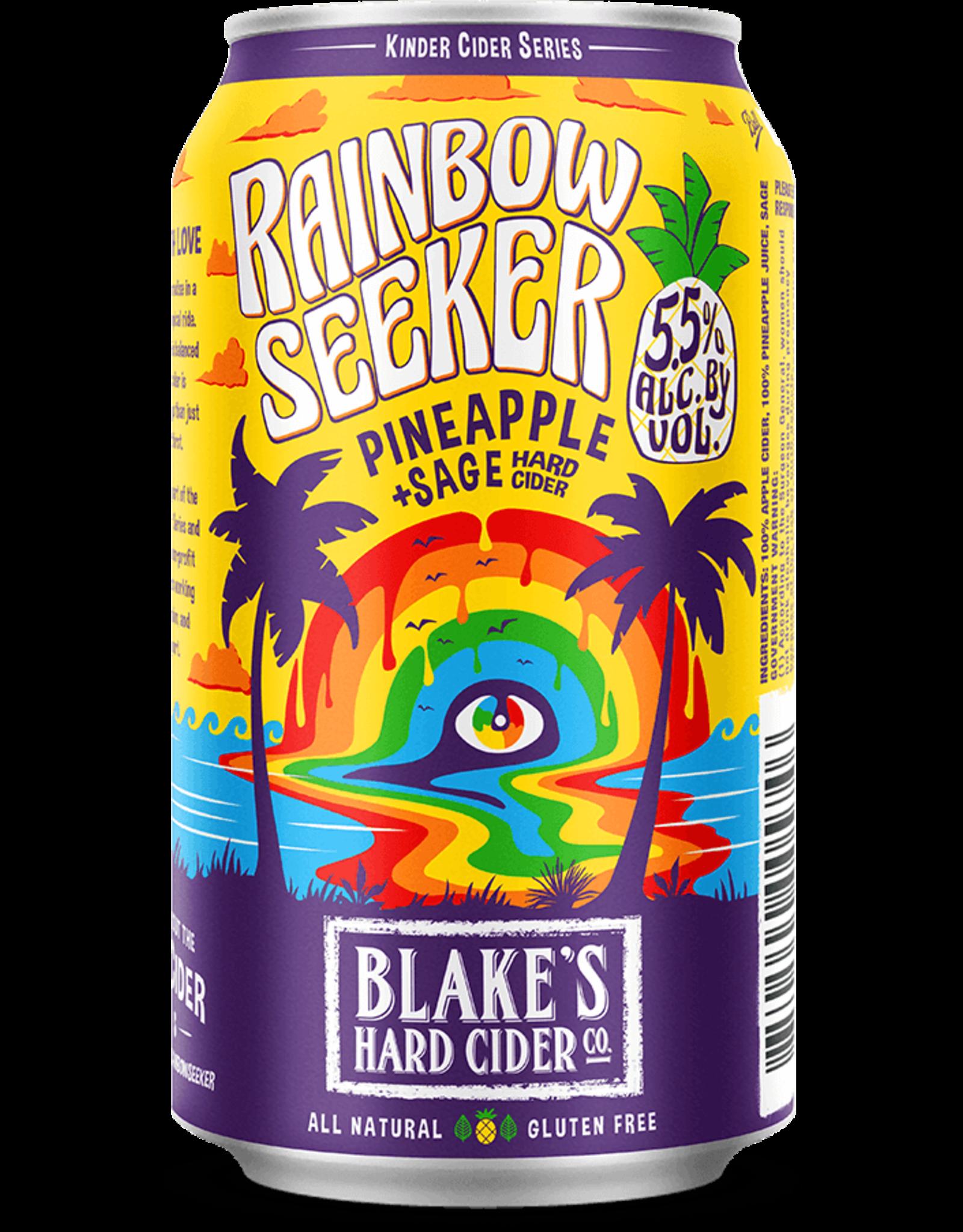 Blake's Blake's Hard Cider, Rainbow Seeker Pineapple