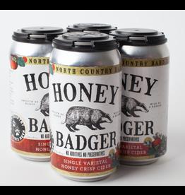 North Country Hard Cider North Country Honey Badger Honey Crisp Cider