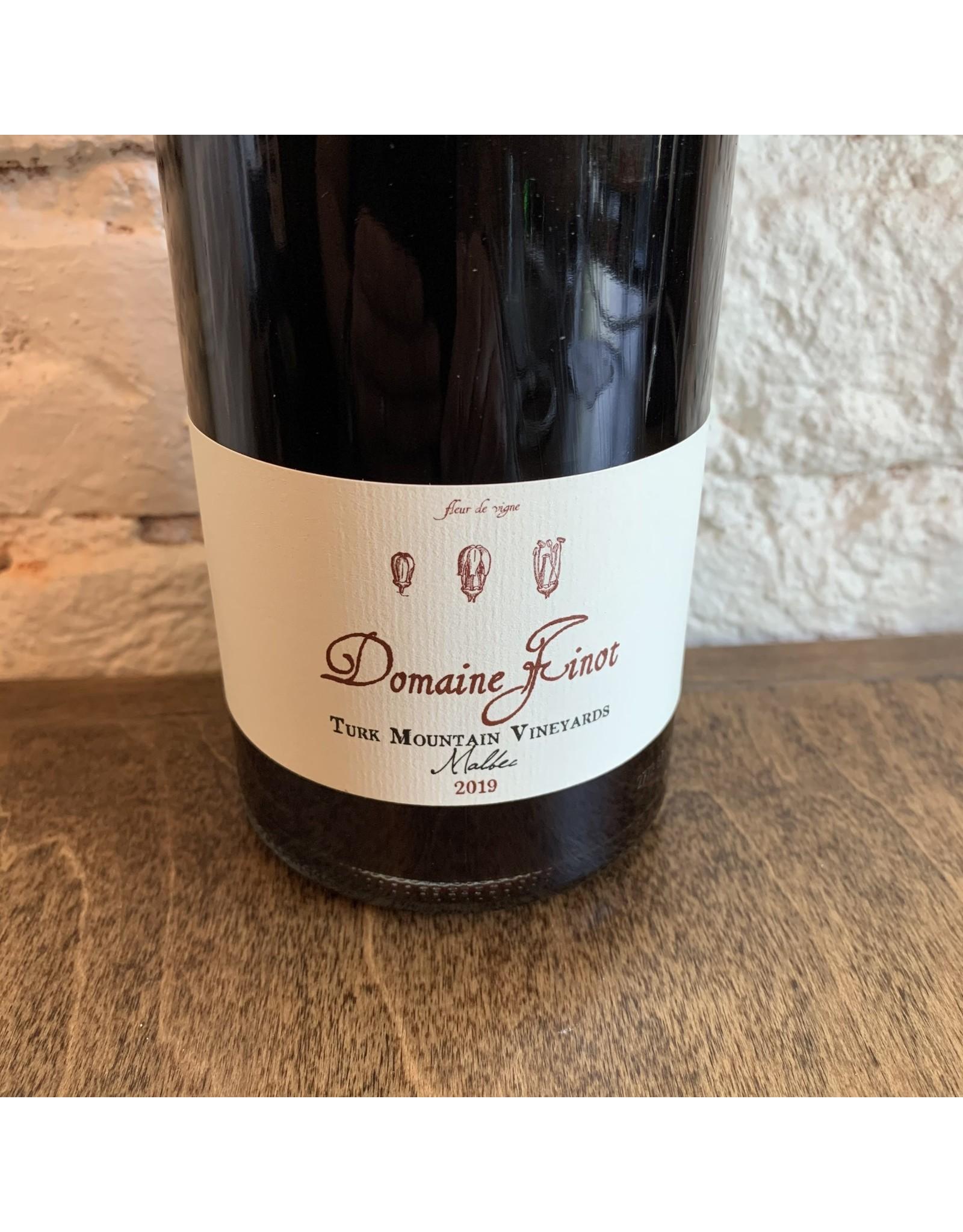 Domaine Finot Domaine Finot Malbec, Turk Mountain Vineyard 2019