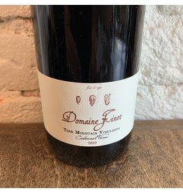 Domaine Finot Domaine Finot Cabernet Franc, Turks Mountain Vineyard, Monticello 2019