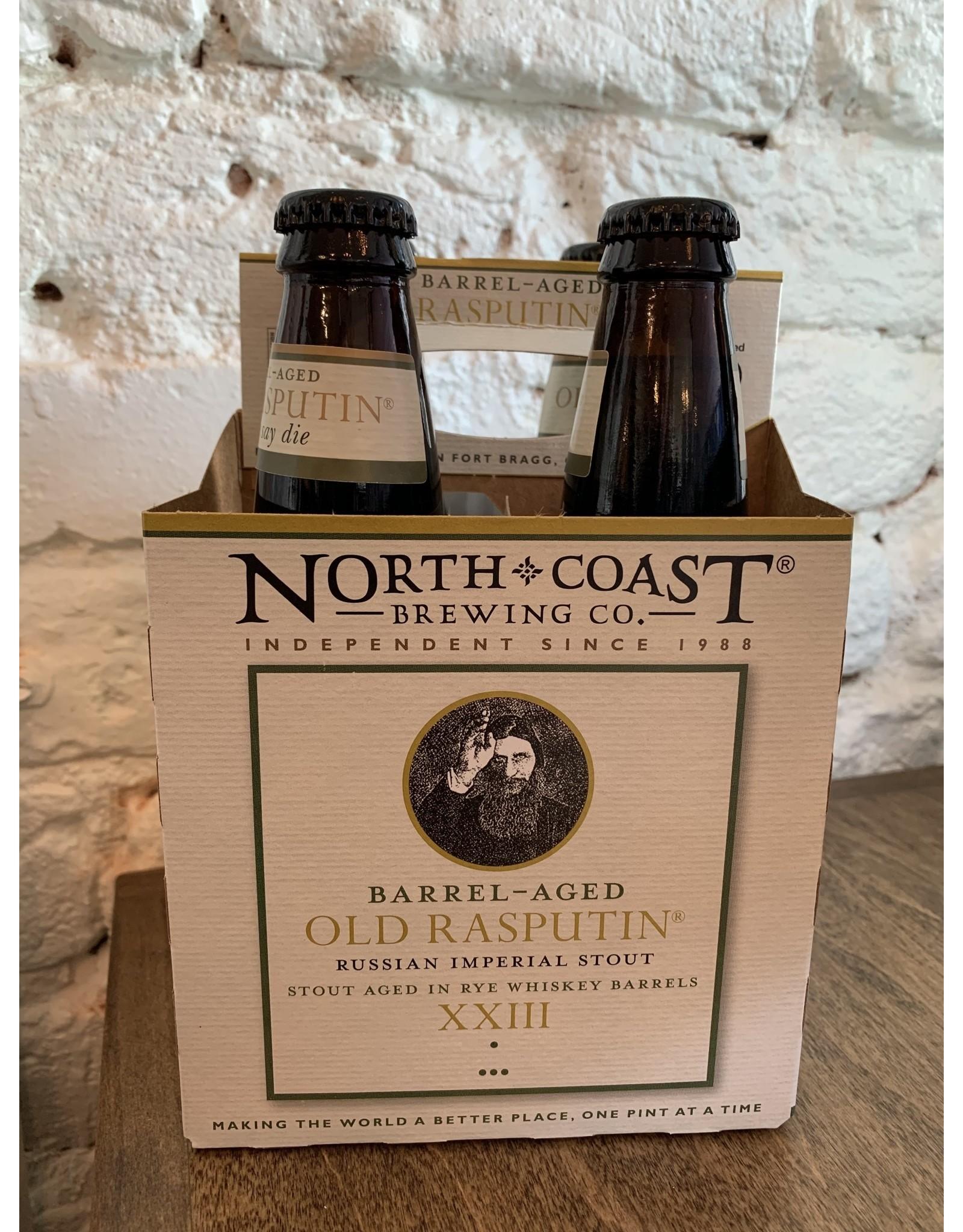 North Coast Brewing North Coast, Old Rasputin XXIII Rye Barrel Aged