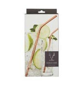 Viski Summit™ Copper Cocktail Straws by Viski