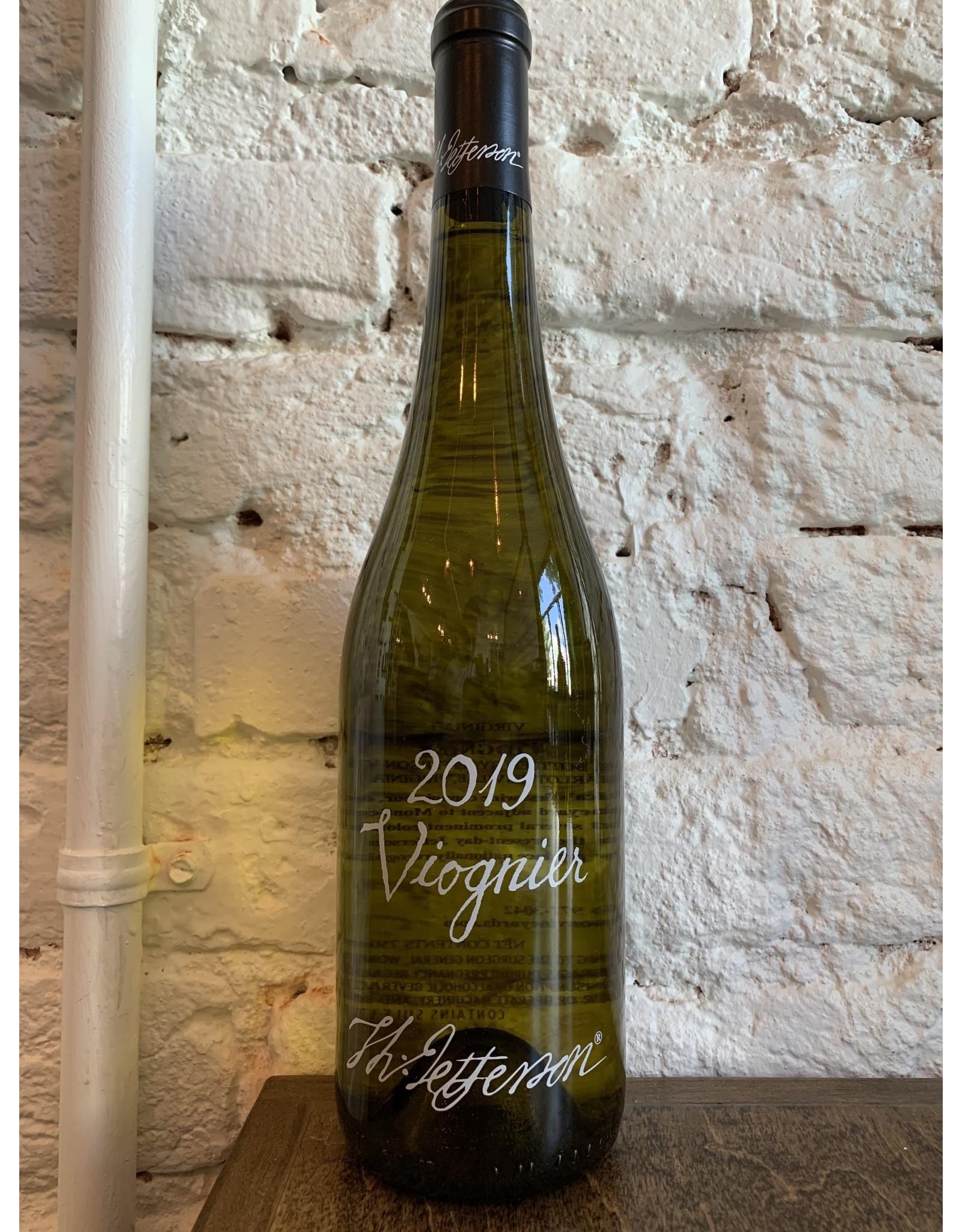Jefferson Jefferson Vineyards, Viognier 2019