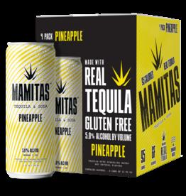 Mamitas Mamitas Tequila & Soda Pineapple