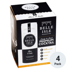 Belle Isle Belle Isle Shine & Soda 4 Pack Cans