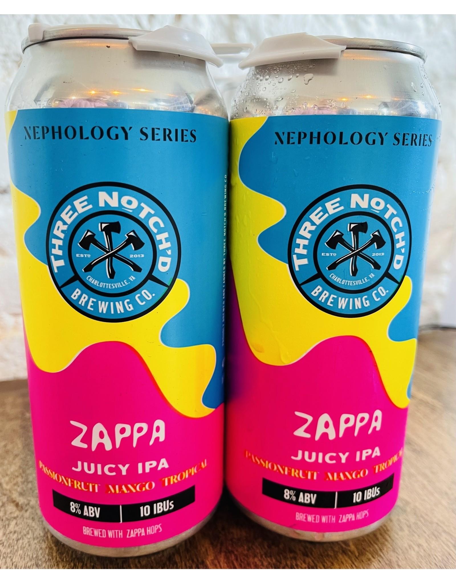 Three Notch'd Three Notch'd Zappa Juicy IPA
