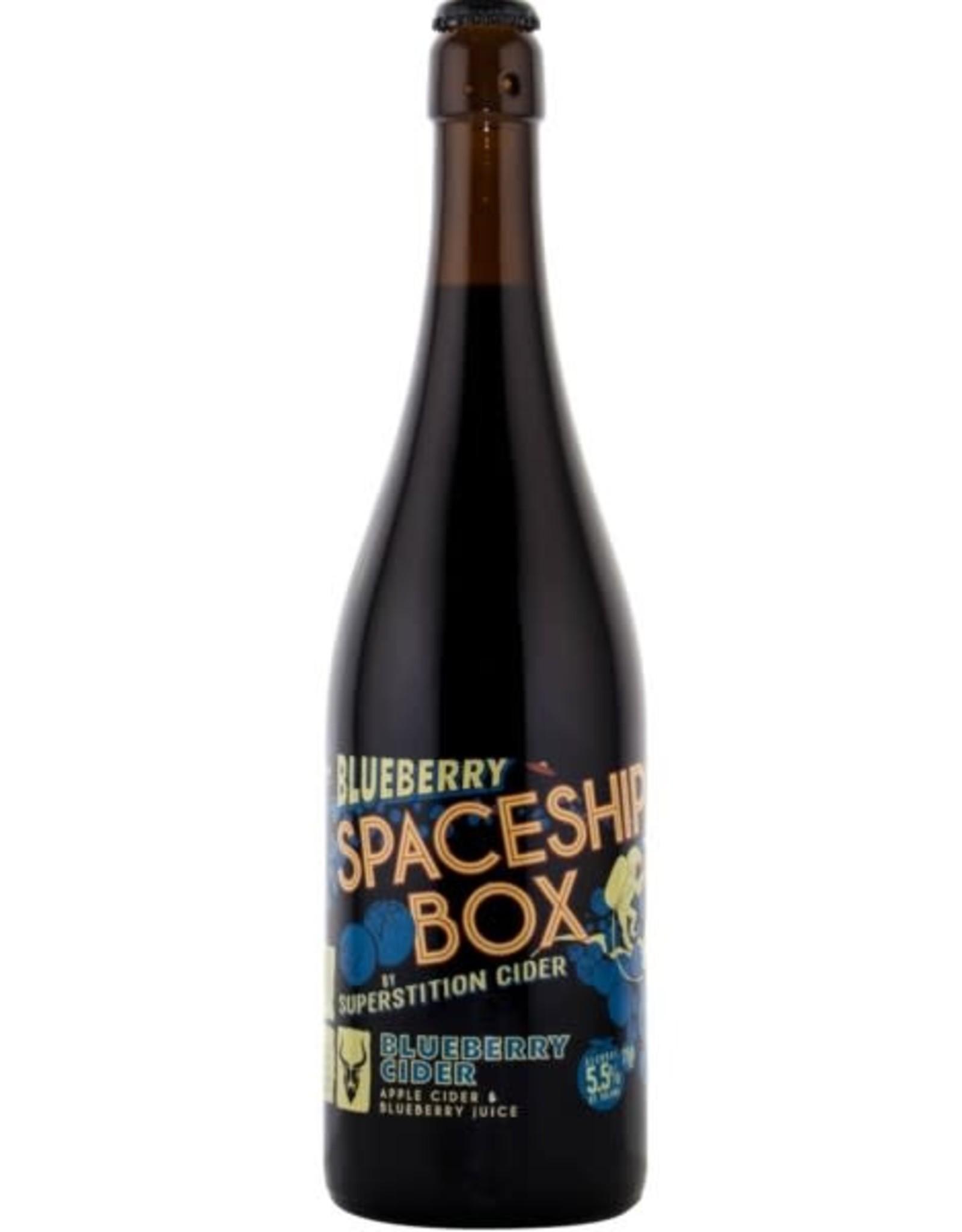 Superstition Meadery Superstition Meadery Spaceship Box Blueberry Cider