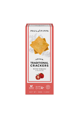 Paul and Pippa Paul & Pippa Traditional Crackers, Tomato