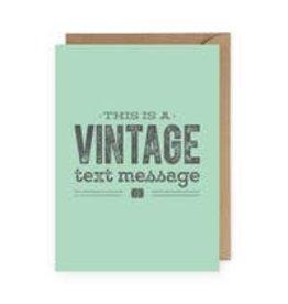 Anastasia Co Anastasia Co Greeting Cards Vintage Text Message