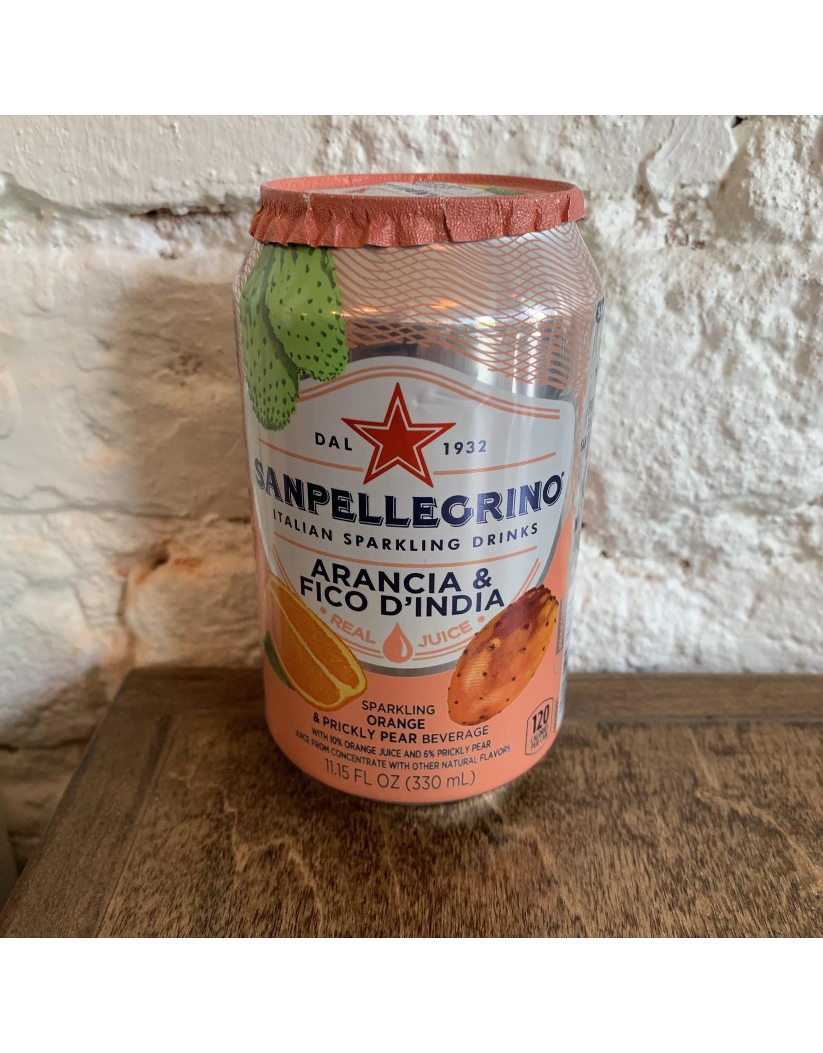 SanPellegrino SanPellegrino Soda, Orange & Prickly Pear