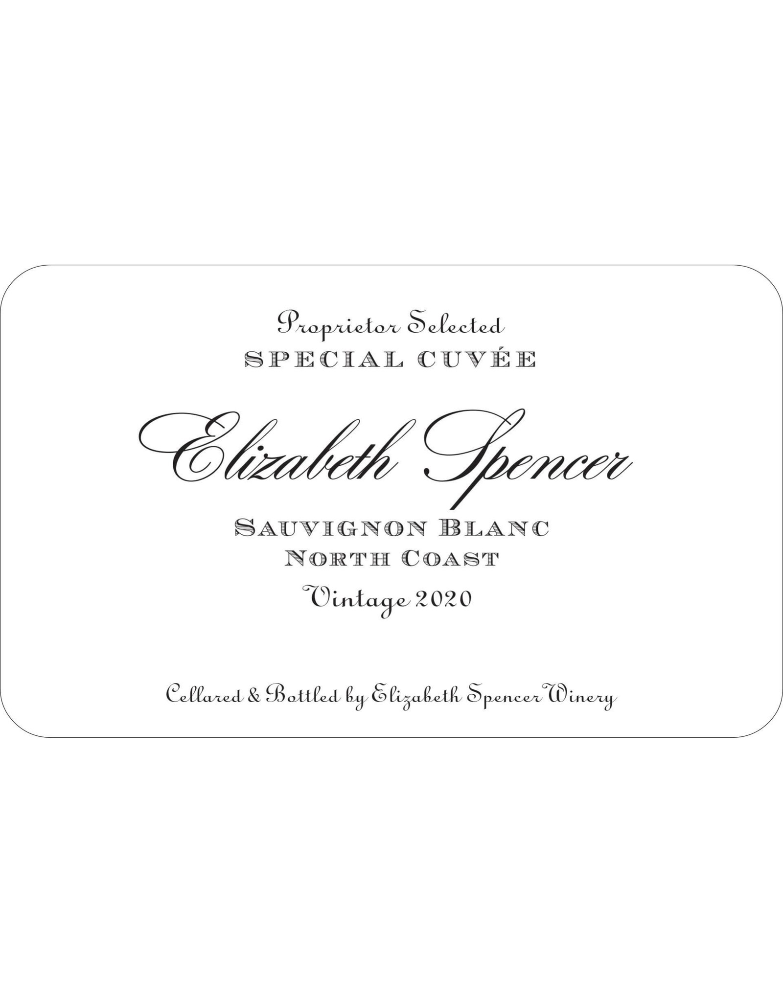 Elizabeth Spencer Elizabeth Spencer Sauvignon Blanc, North Coast 2020