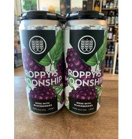 Schilling Schilling Beer Co. Popp's Moonshine, Gose with Blackberries
