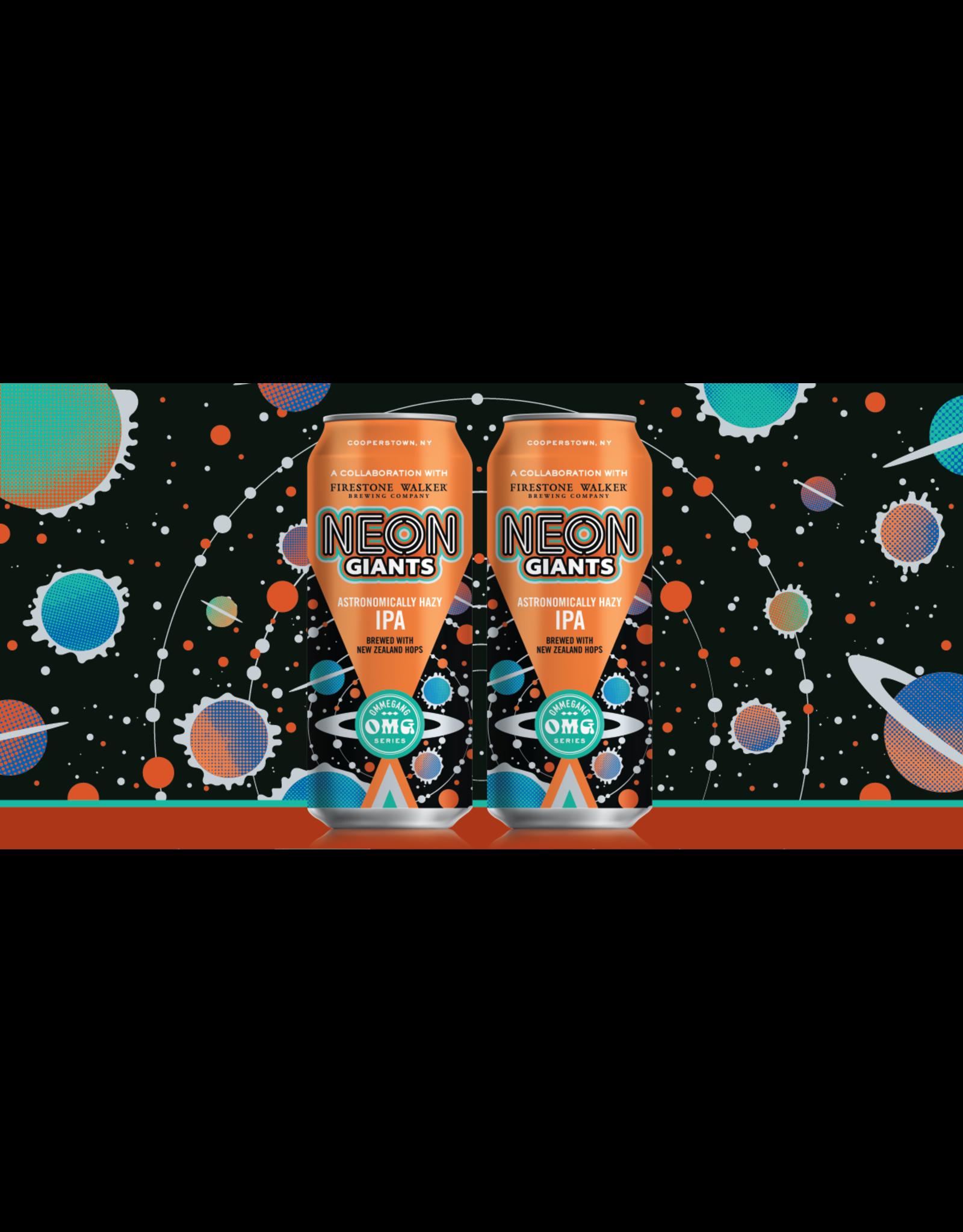Ommegang Ommegang OMG Series, Neon Giants Hazy IPA