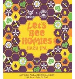 Stone Stone & Deschutes Collaboration, Let's Bee Homies Hazy IPA