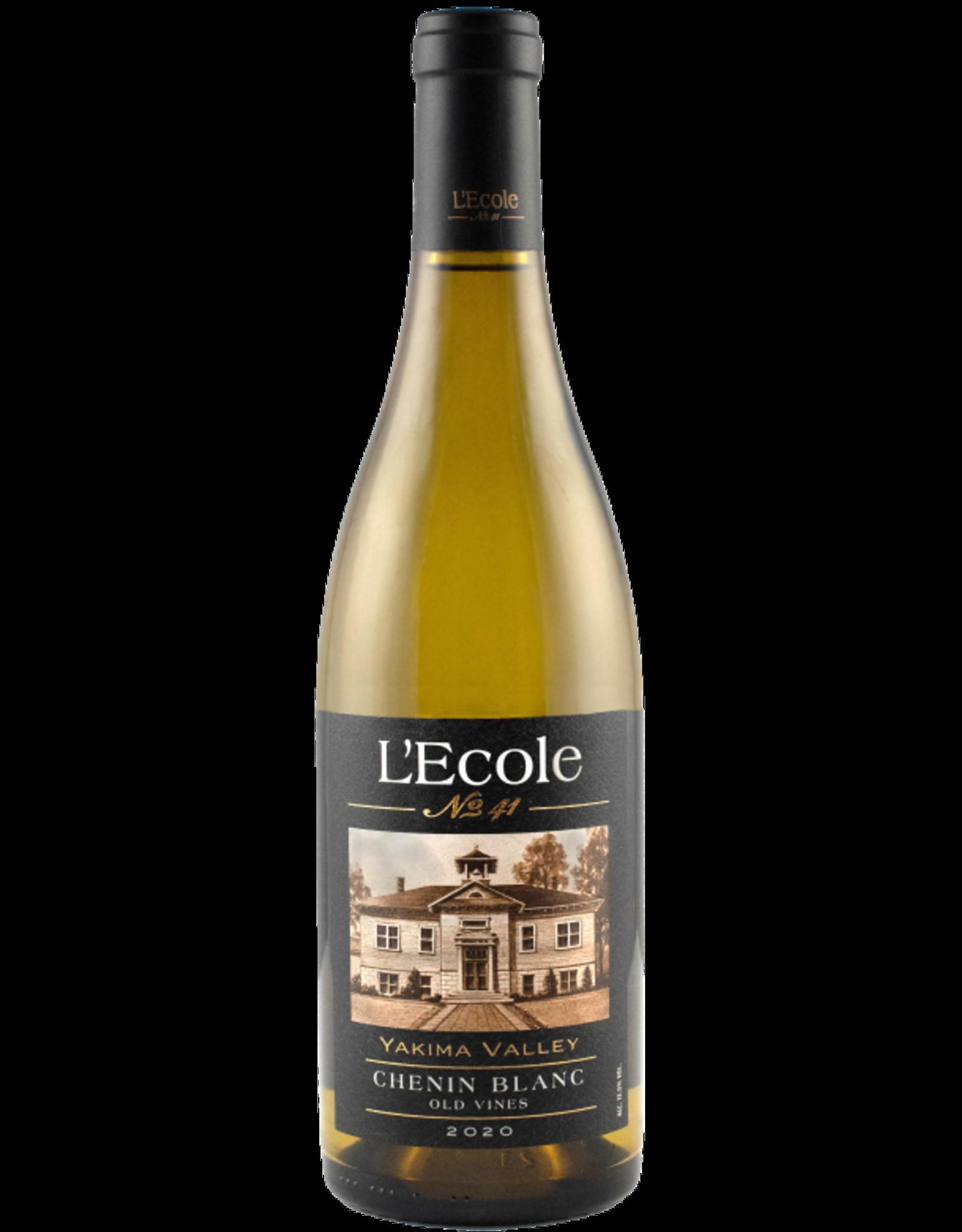 "L'Ecole L'Ecole No. 41 Chenin Blanc ""Old Vines"" Yakima Valley 2020"