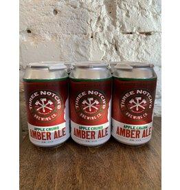 Three Notch'd Three Notch'd Brewing Co. Apple Crumb Amber Ale