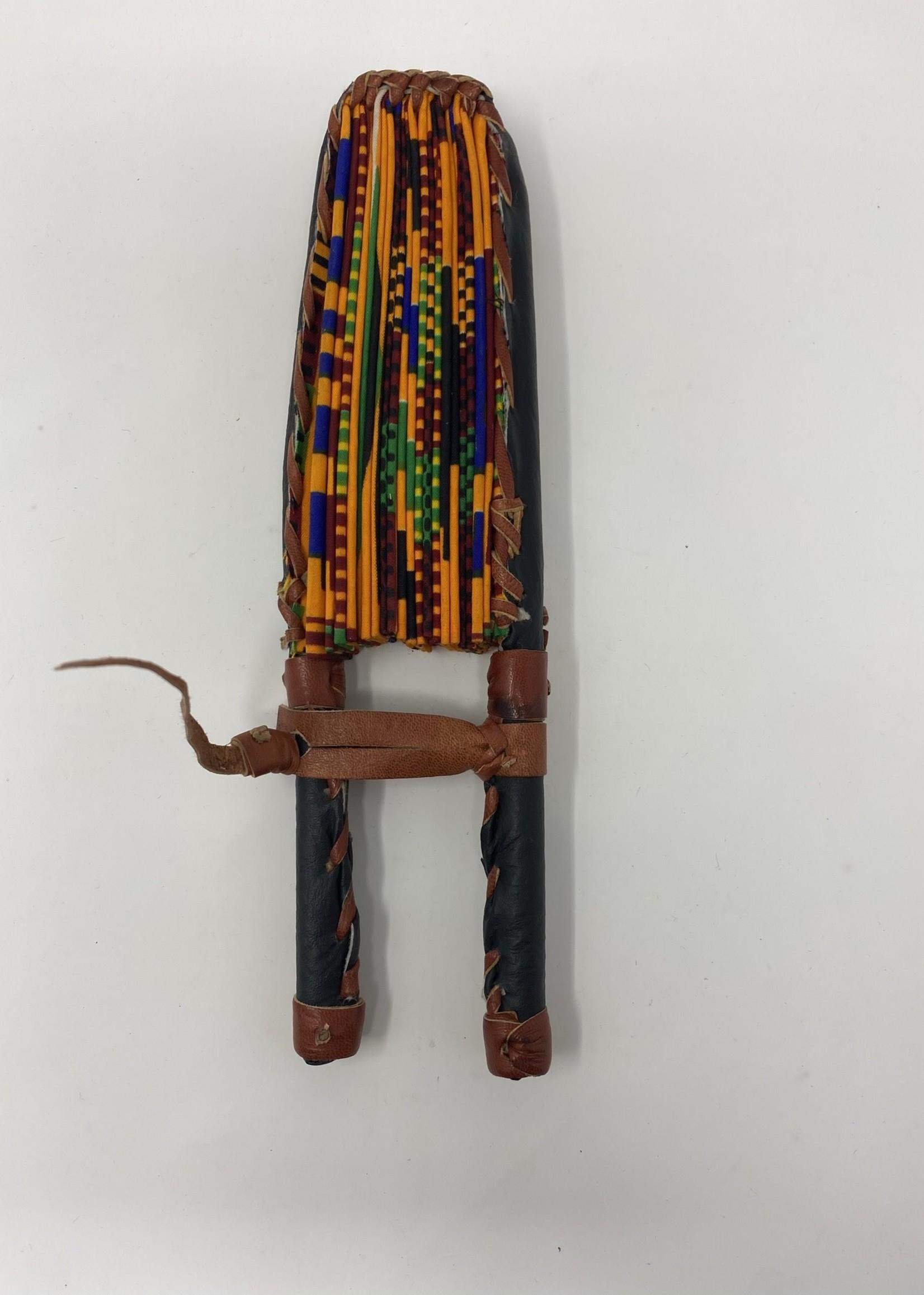 GHANA AFRICAN PRINT  FAN