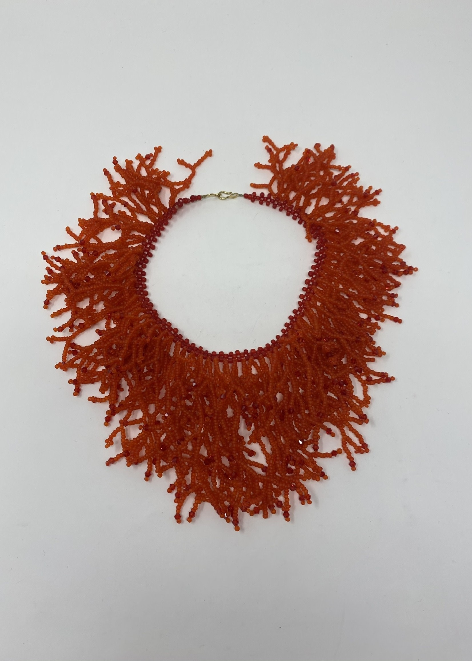 BRANCHED BEADED NECKLACE