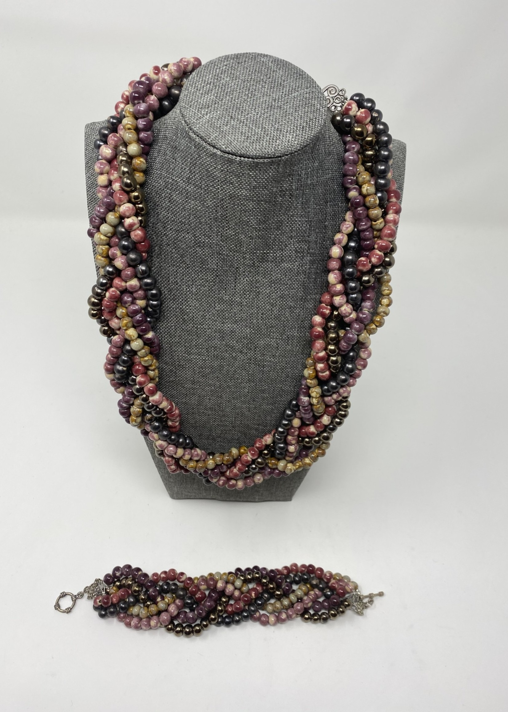 HANDMADE SWAZI BRAIDED NECKLACE