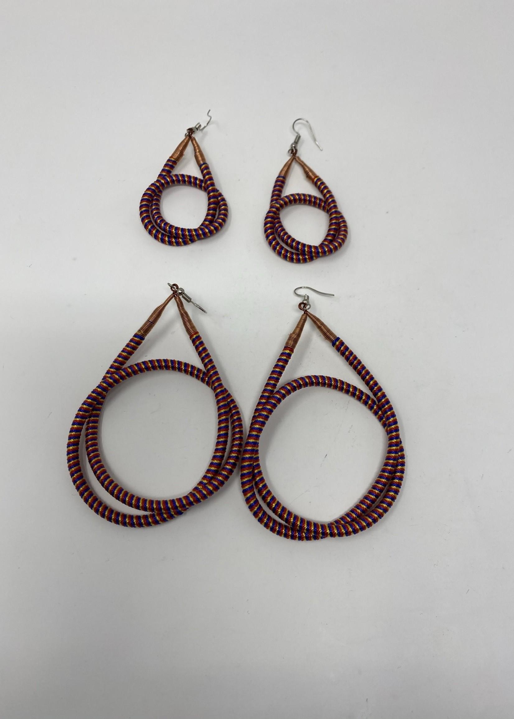 SWAZI KNOT EARRINGS (MEDIUM)