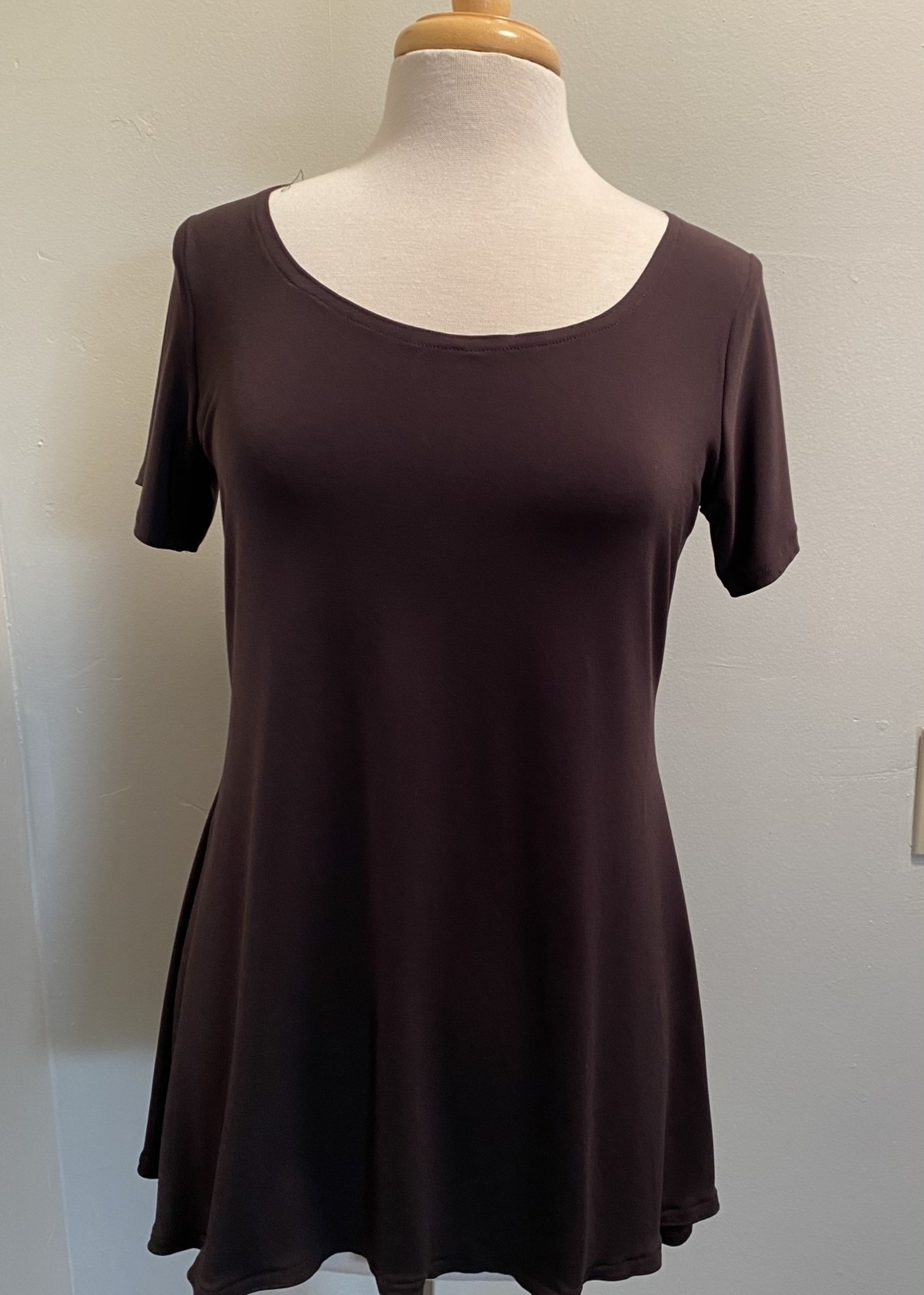 W SHIRT CAP SLEEVES (Couture Jersey)