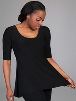 SARAH KUENYEFU W SHIRT -MIDLENGTH SLEEVES (Couture Jersey)