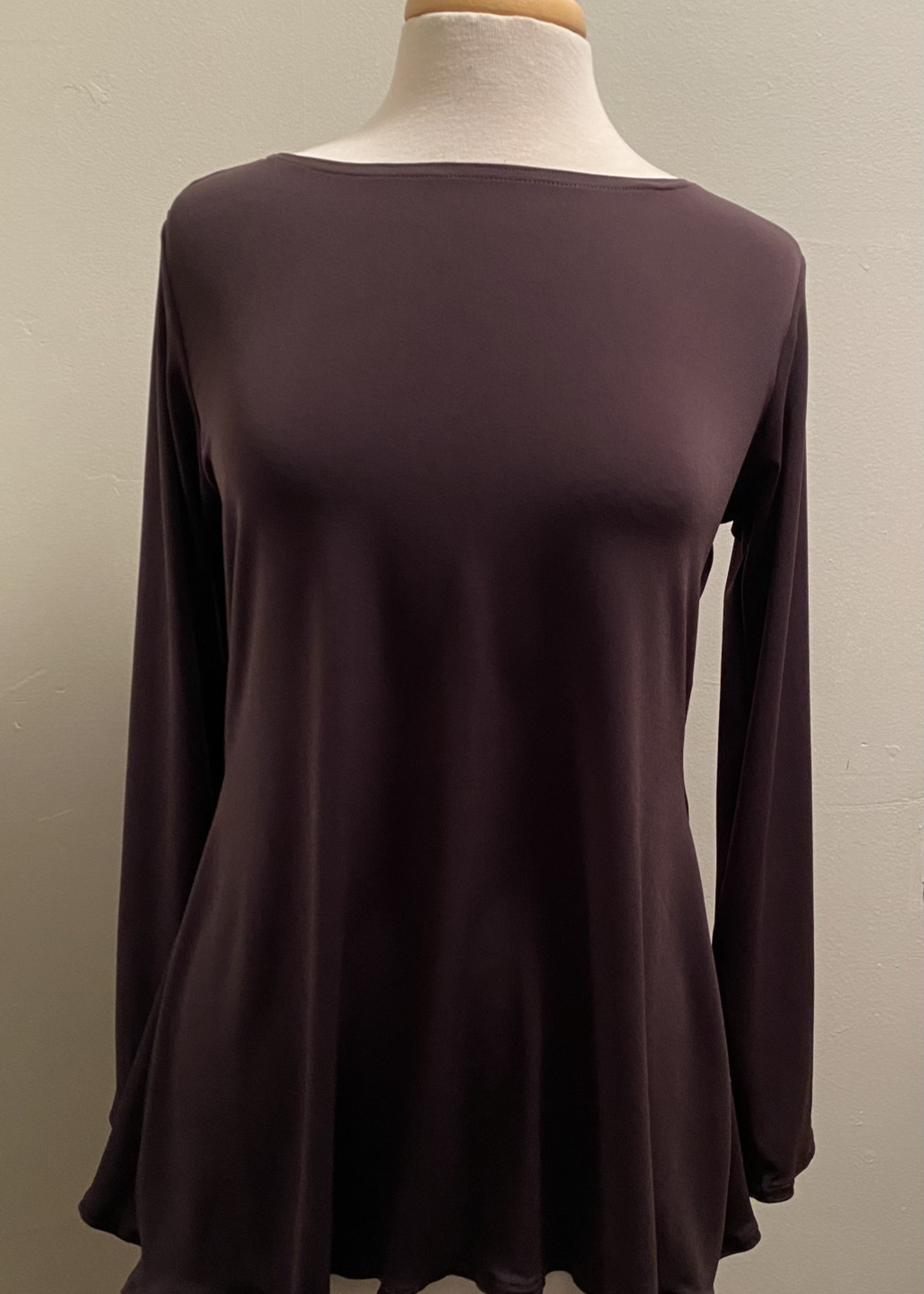 W SHIRT LONG SLEEVES- COUTURE JERSEY