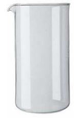 BODUM 1508-10US Bodum  8 Cup, Spare Beaker Glass,  34oz, Dia 9.6cm, H 18cm Transparent