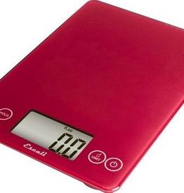ESCALI 157R2 special order ESCALI Arti Digital Glass Scale 15 Lb / 7 Kg Retro Red