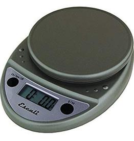 ESCALI ESCALI Primo, Digital Scale, 11 Lb / 5 Kg Metallic