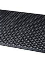 FM-35B Update Black kitchen Rubber Floor Mat 3X5 ft