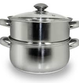 COOK PRO INC 589 special order COOK S/S 3pc Steamer and Sauce Pot 3qt Set