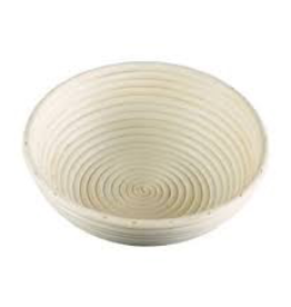 "Frieling USA 3002 Frieling 10"" Bread Rising Basket brotform round proof"