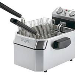 R & B Wholesales Waring  deep Fryer Counter Unit  Electric 10Lb Capacity Single Basket (NSF Approved)