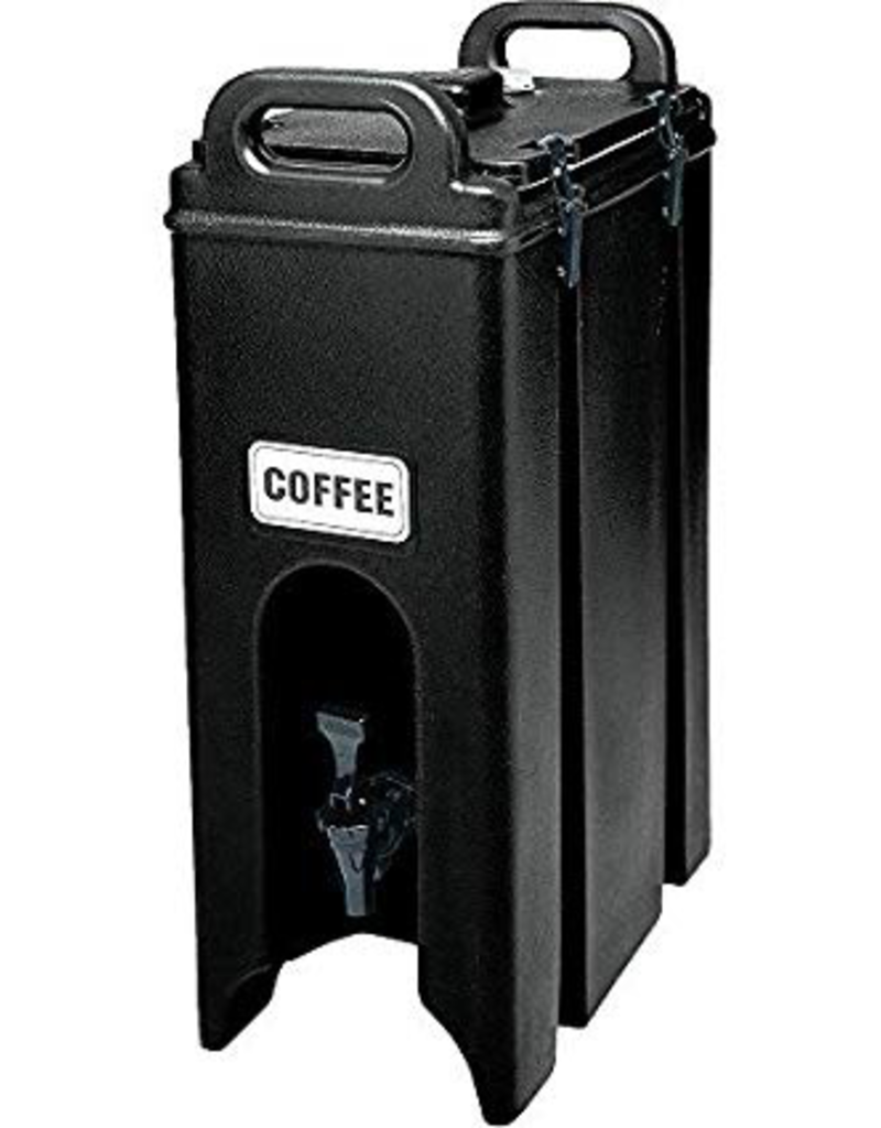 CAMBRO MANUFACT. COMPANY 500LCD110 special order CAMBRO Camtainer 5gal Black Insulated Beverage Server