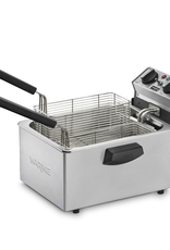 WARING PROFFESIONAL / CONAIR WDF75RC Waring Deep Fryer With 2, 2 Baskets, 6.5 Lb  (NSF Approved)