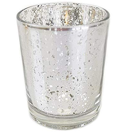 Concord 69555 Concord Silver Cylinder votive candle holder  2.75hx2.75