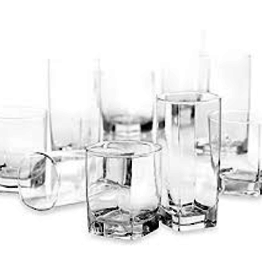 ARC INT'L ARC OPEN Sterling Set 16 Glass Cup
