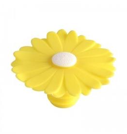 Charles Viancin 3349 CHARLES VIANCIN Yellow Daisy Bottle Stopper