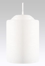 GENERAL WAX & CANDLE 2120 General Wax 5-Pack 15 Hr Veladora White