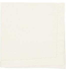 NOW DESIGNS 907555  special order Napkin Hemstitch Ivory