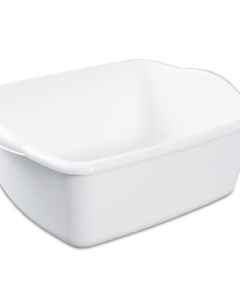 FOUR SEASONS 436281 JC Dishpan Sterilite White Plastic 12qt #0647