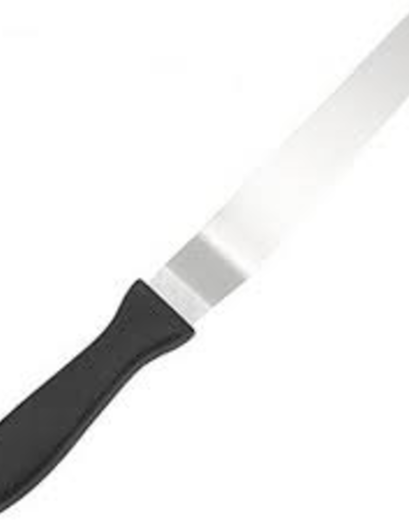 """Fat Daddio's SPAT-4OS FAT Daddios 4"""" Offset Spatula  Stainless Steal"""