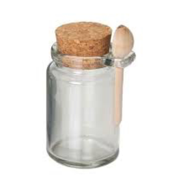 Olde Thompson, Inc. 22-643 Olde Thompson Honey jar with cork top and spoon
