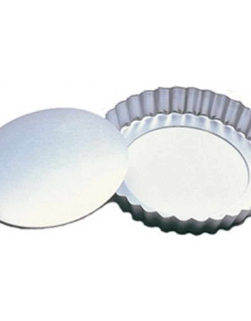 """Fat Daddios PFT-425 FAT DADDIO'S Fluted Tart Pan with Removable Bottom 4 1/4"""" x 1"""""""